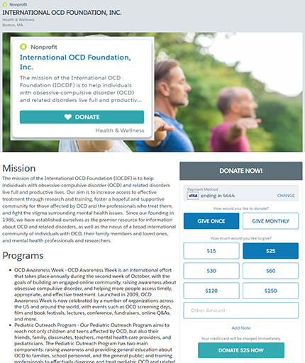 Salesforce.org Philanthropy Cloud screenshot 0