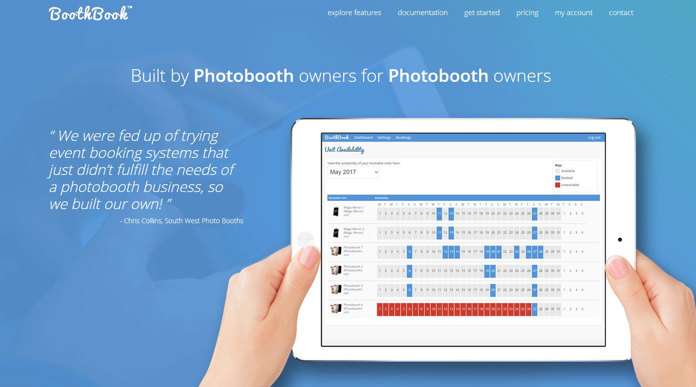 BoothBook screenshot 0