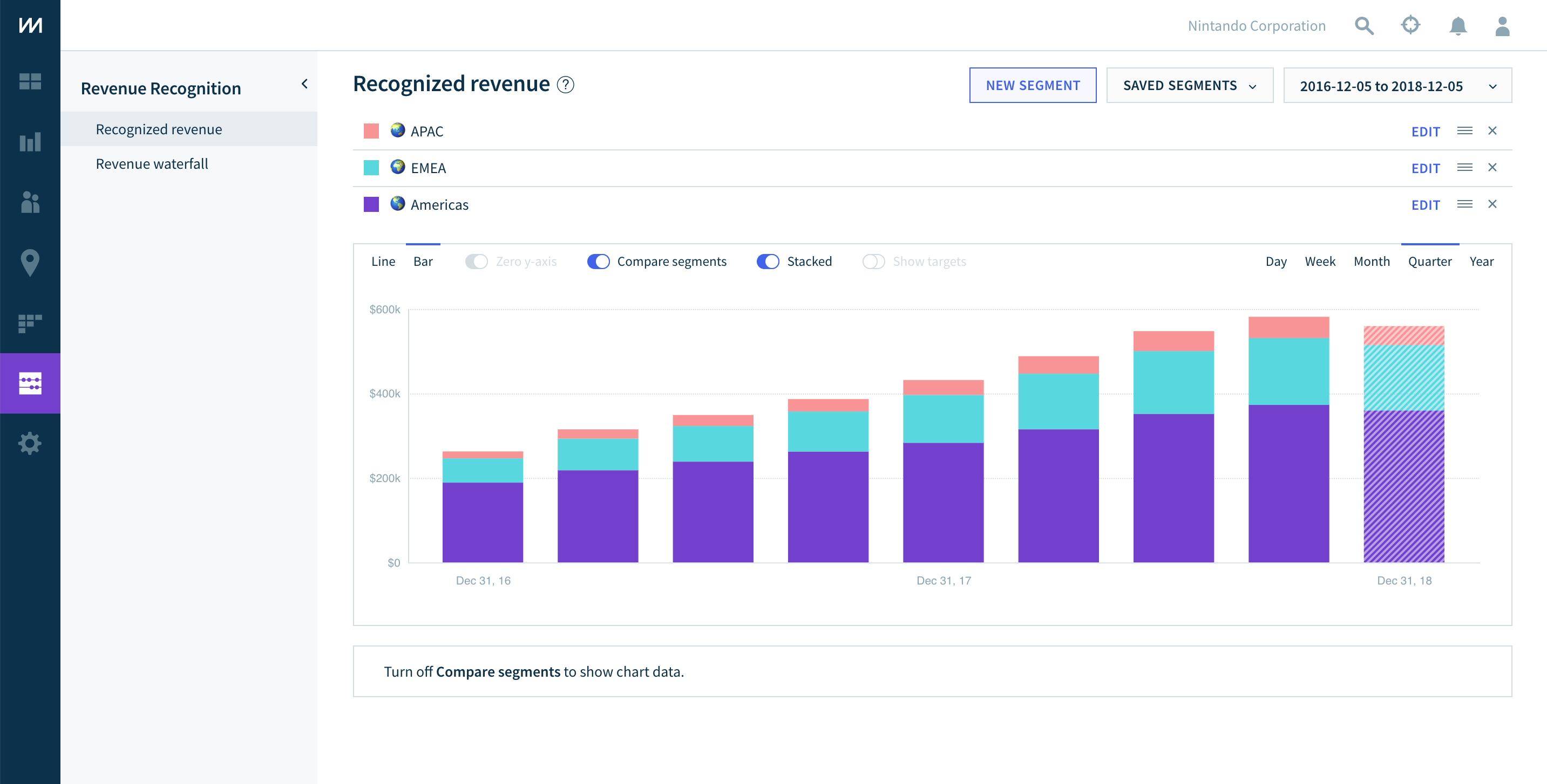 Revenue Recognition from ChartMogul screenshot 1