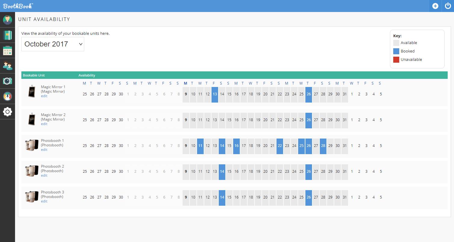 BoothBook screenshot 2