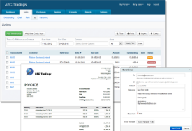 AccountsPortal screenshot