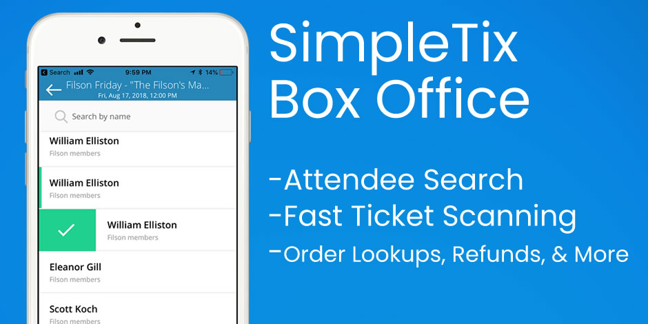 SimpleTix screenshot 2