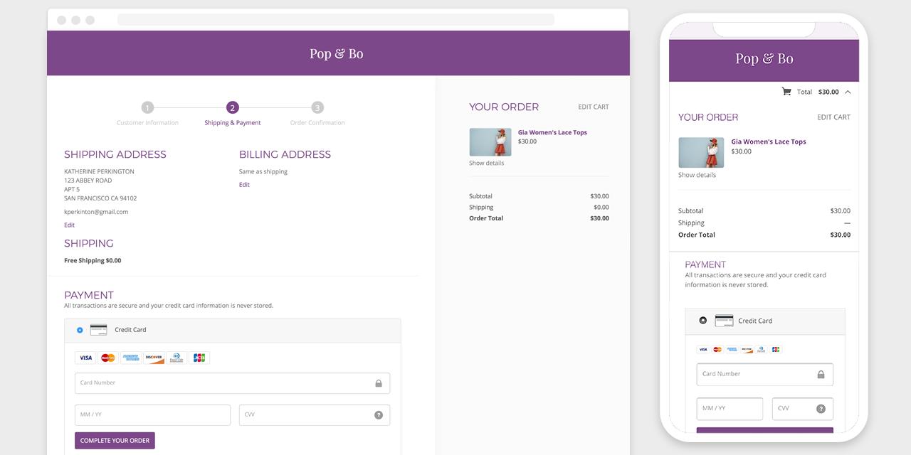 GoDaddy GoCentral Online Store screenshot 1
