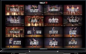 Uscreen screenshot