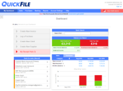 QuickFile Accounting Software screenshot