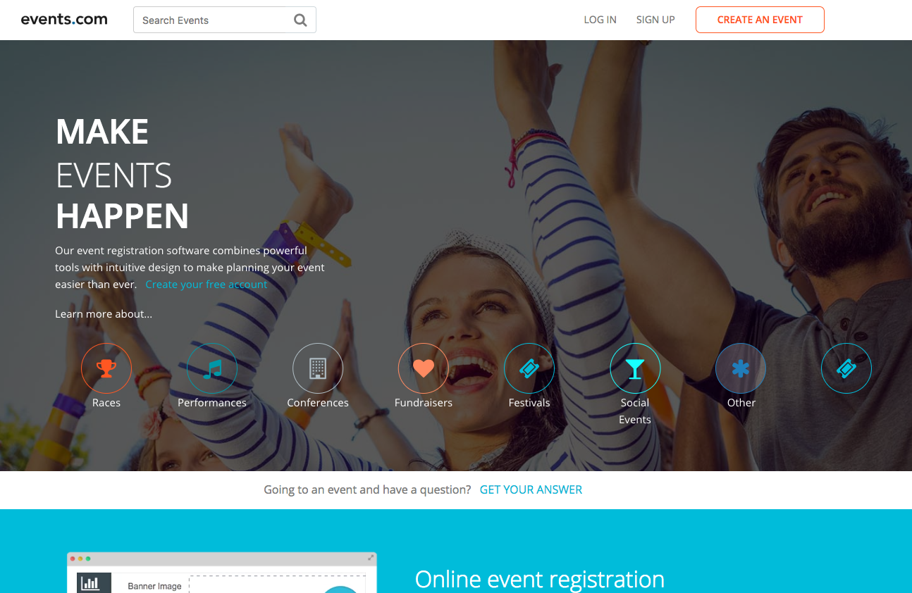 Events.com screenshot 0