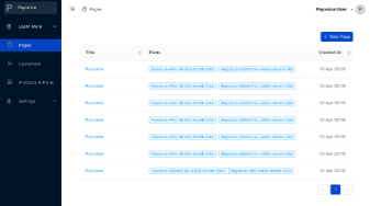 Payvoice screenshot