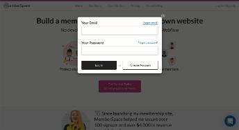 MemberSpace screenshot