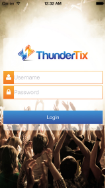 ThunderTix screenshot