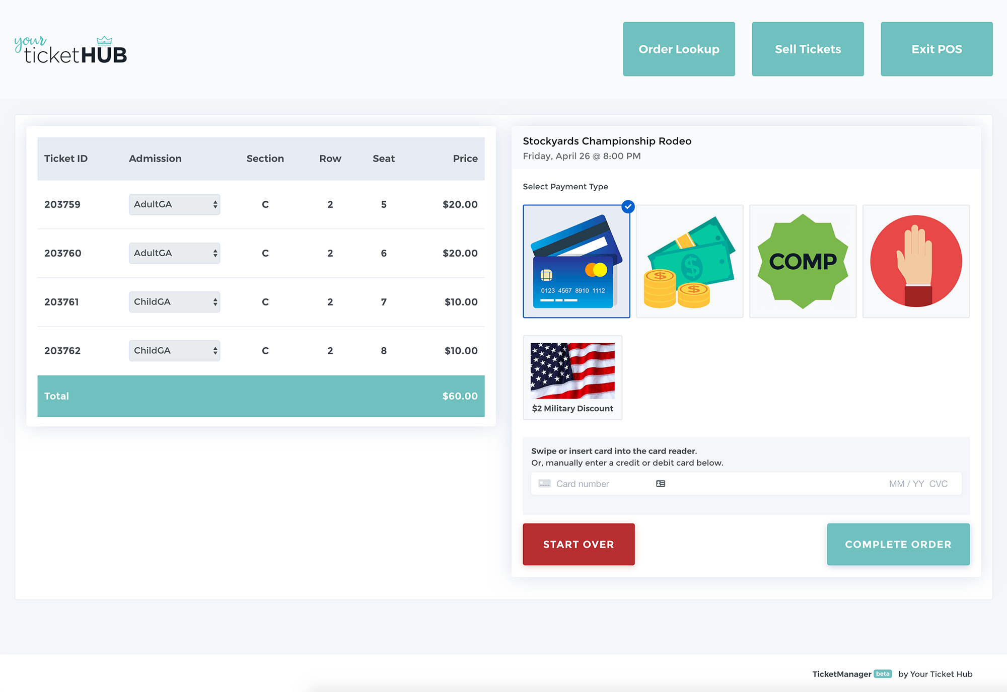 Your Ticket Hub screenshot 2