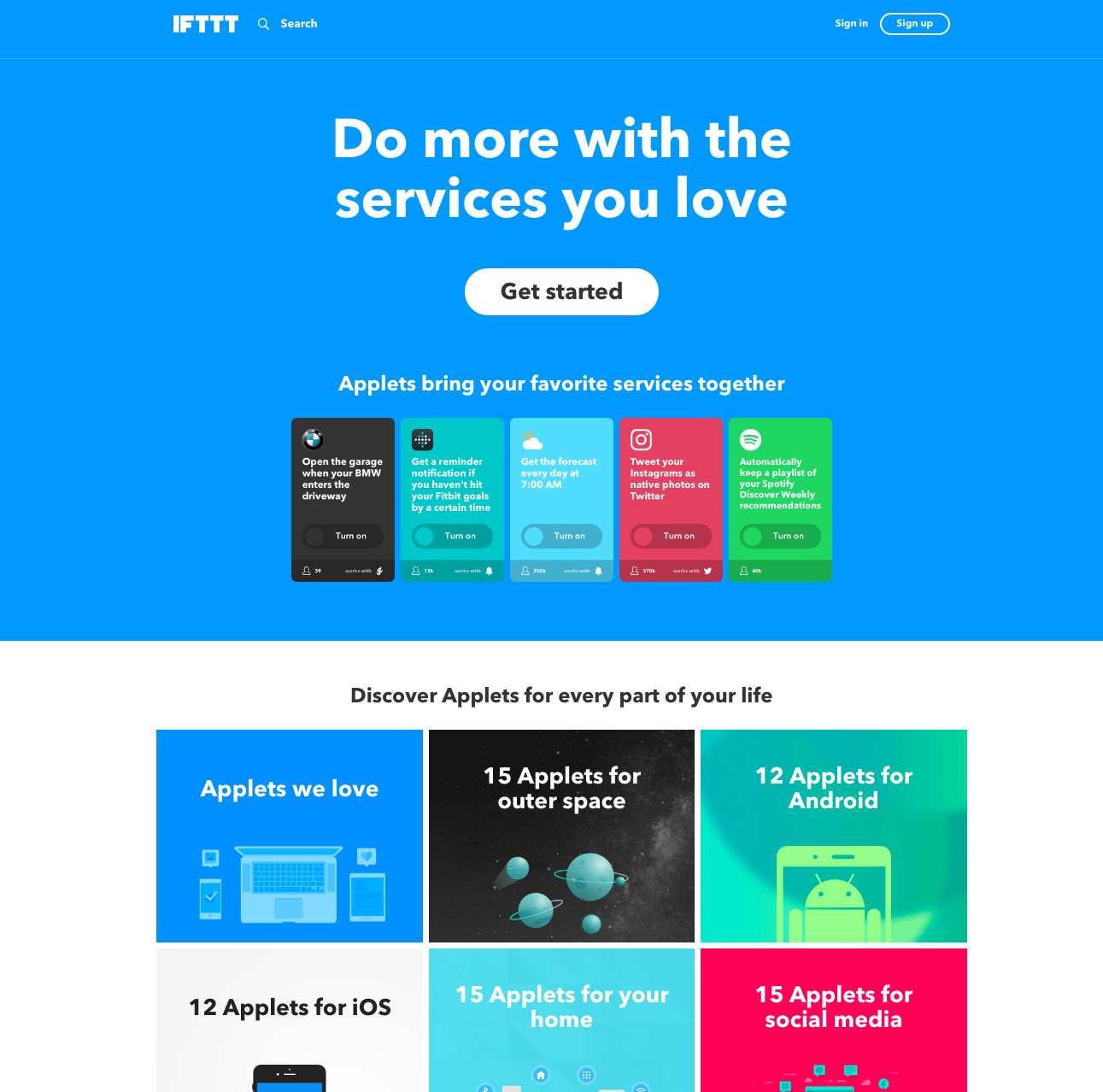 IFTTT screenshot 0