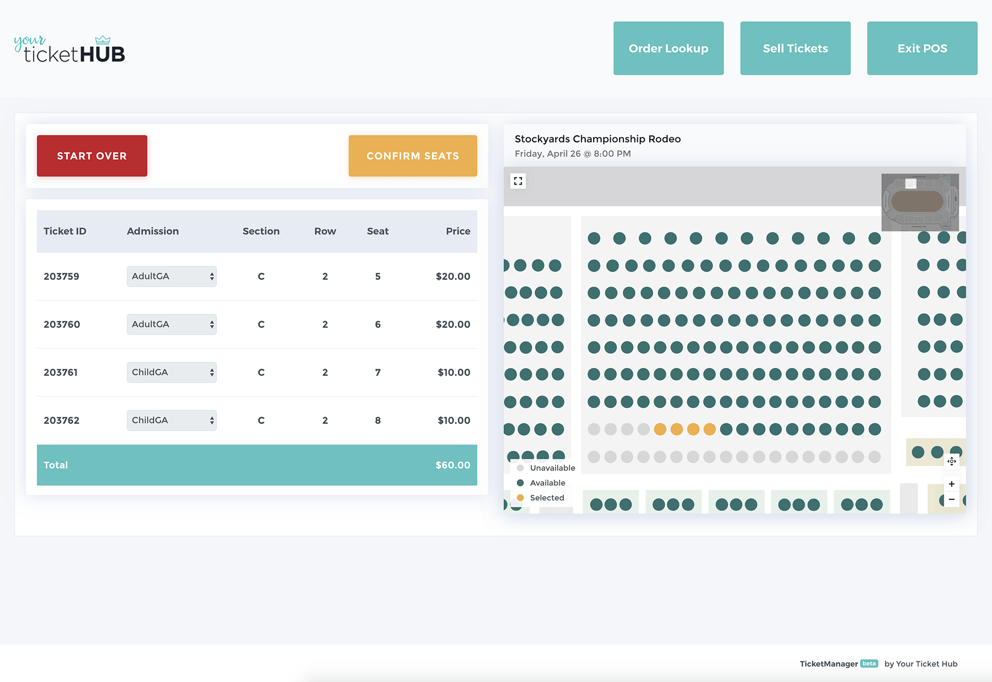 Your Ticket Hub screenshot 1