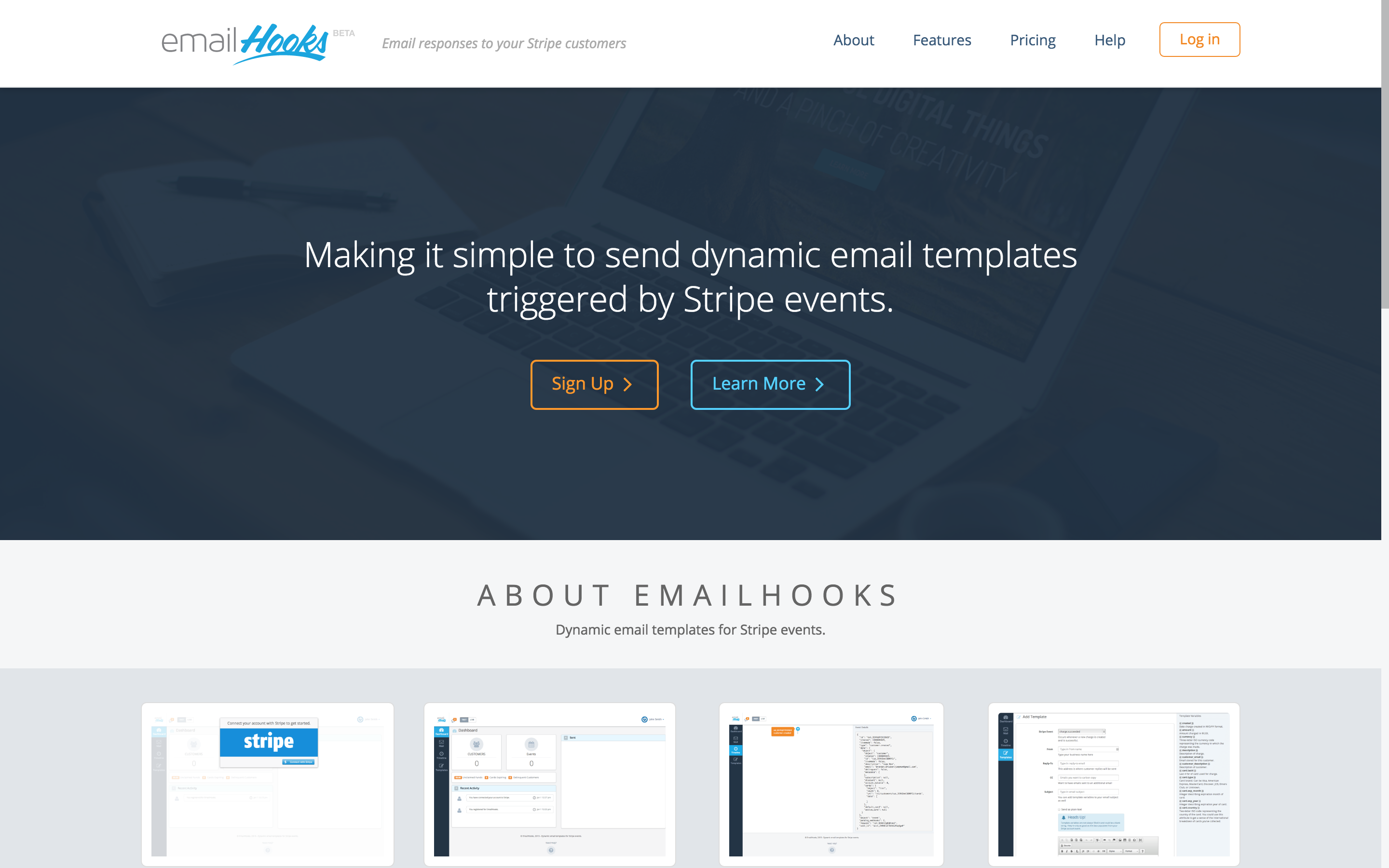 EmailHooks screenshot 0