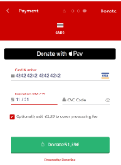 Donorbox screenshot