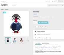 PrestaShop screenshot