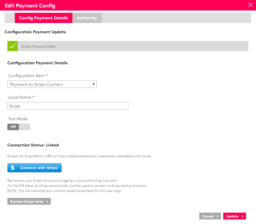 Core dna eCommerce screenshot 0