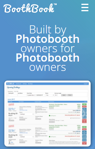 BoothBook screenshot 1