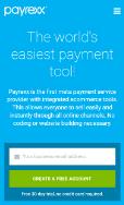 Payrexx screenshot