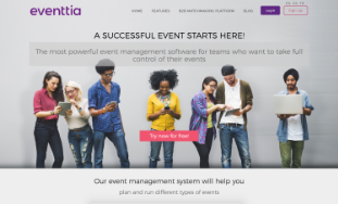Eventtia screenshot