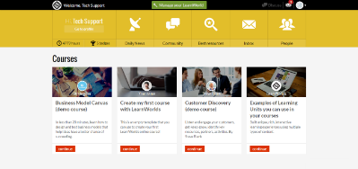 LearnWorlds screenshot