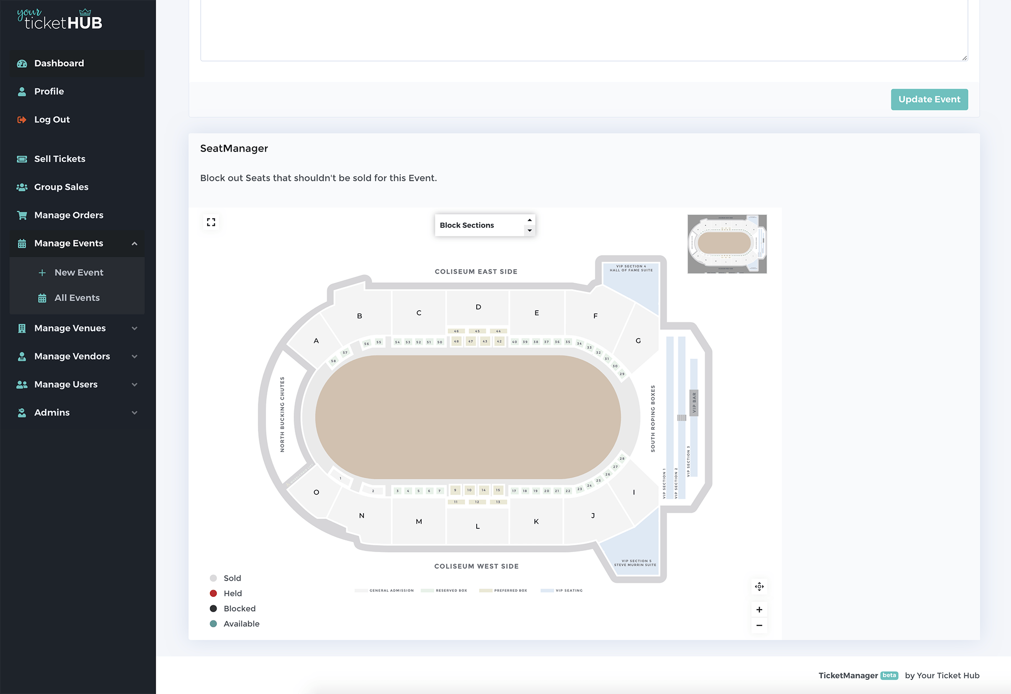 Your Ticket Hub screenshot 0