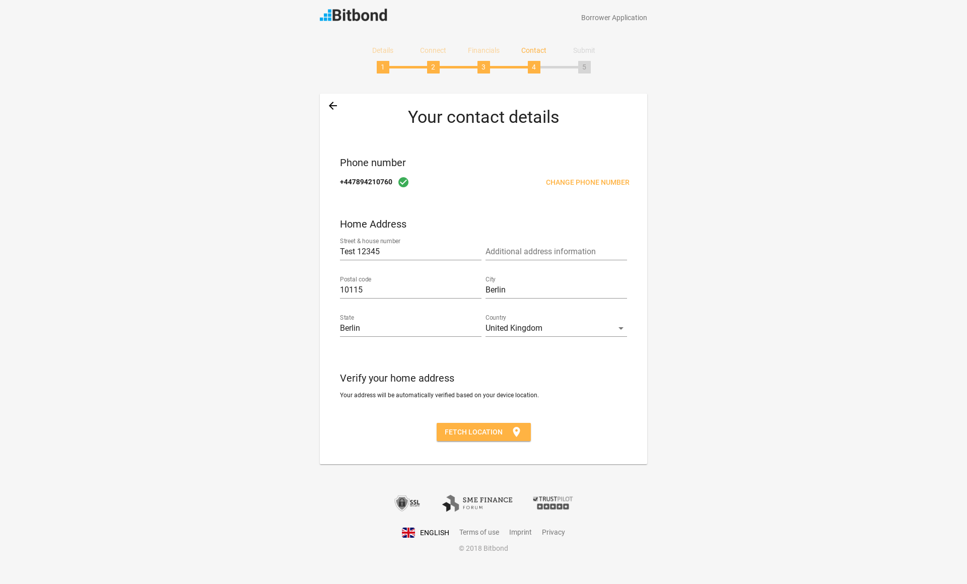 Bitbond screenshot 0