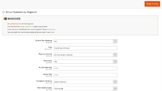 Mageside Magento 2 screenshot
