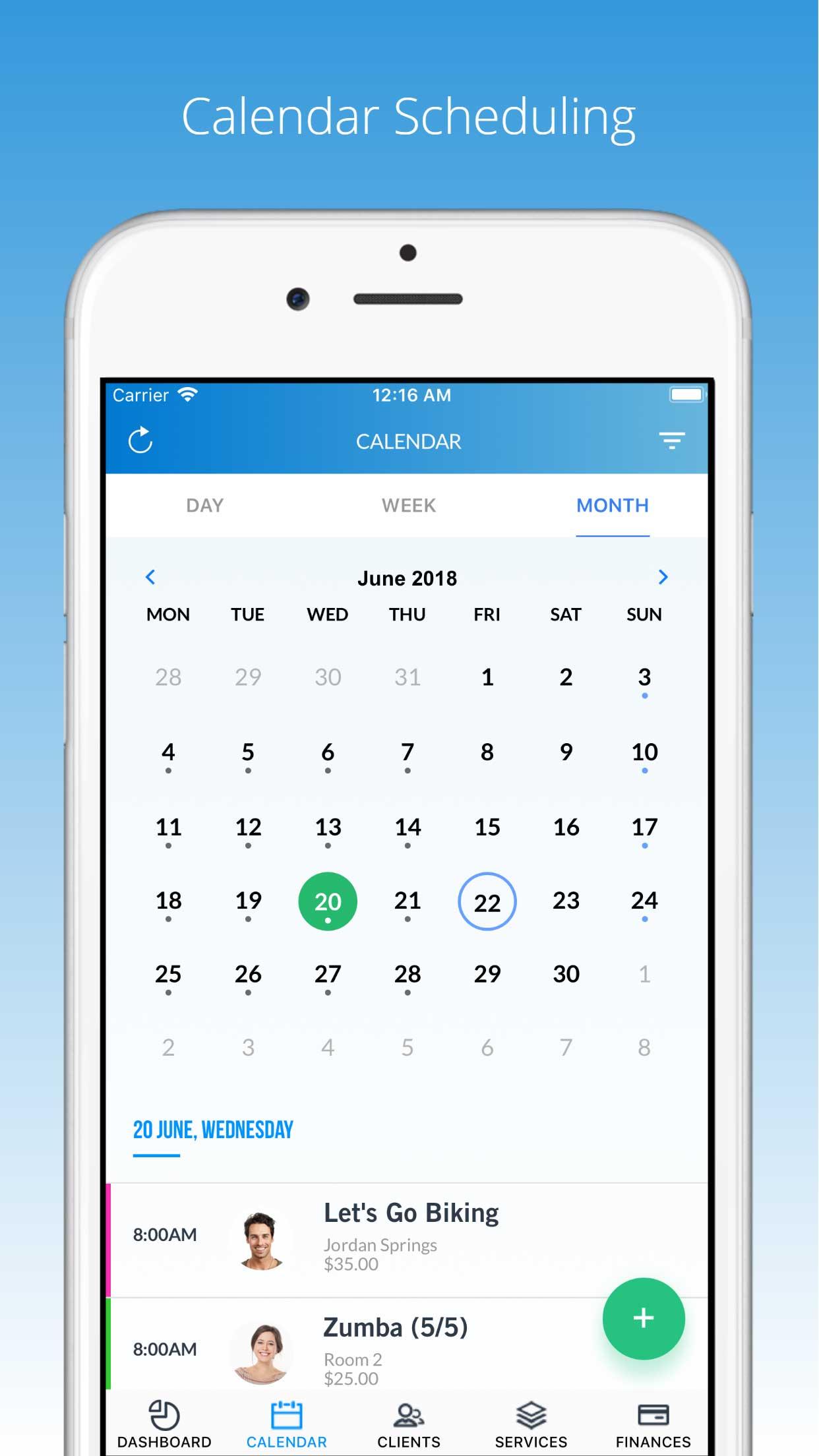 PTminder screenshot 1