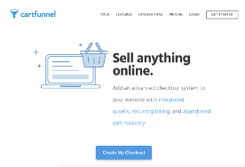 Cartfunnel screenshot