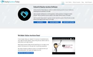 CharityAuctionsToday screenshot