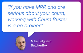 Churn Buster screenshot