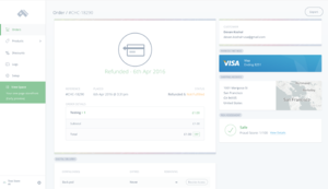 Commerce.js screenshot