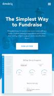 Donately screenshot