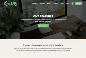 GiveWP screenshot