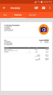 Invoice Simple screenshot