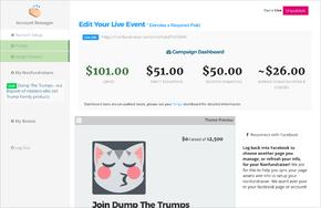 Nonfundraiser  screenshot