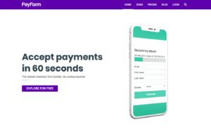 PayForm screenshot