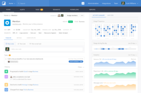 Salesmachine screenshot