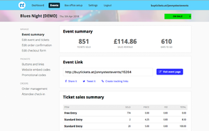 Ticket Tailor screenshot
