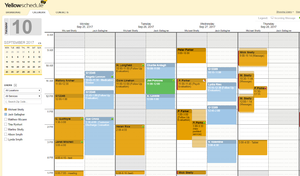 YellowSchedule screenshot